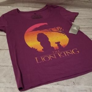 New with tags, Disney Lion King shirt, size Small
